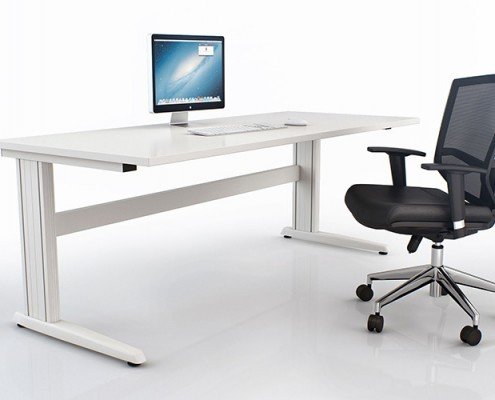 Trilogy Fixed Height Desk Frame