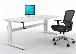 Trilogy Winder Adjust Desk Frame