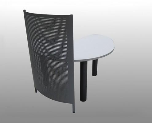 Tripod Base + Perforated Screen